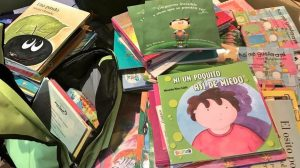 Fundación e.dúcate acquired an extensive collection of recreational books for 2 new Bookpack Libraries