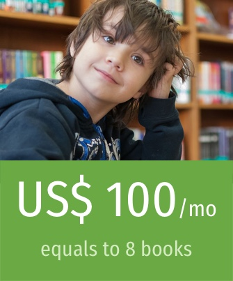 Donate USD 100 / month