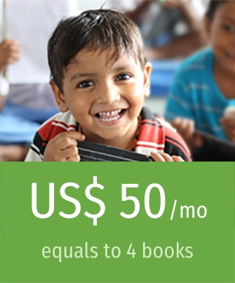Donate USD 50 / month